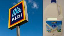 Aldi recalls milk over E. coli contamination fears
