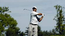 Watch: Tiger Woods prepping for U.S. Open on the practice grounds at Winged Foot