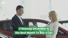 5 Reasons December Is the Best Month To Buy a Car