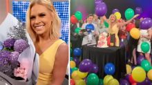 Sonia Kruger's emotional farewell on Today