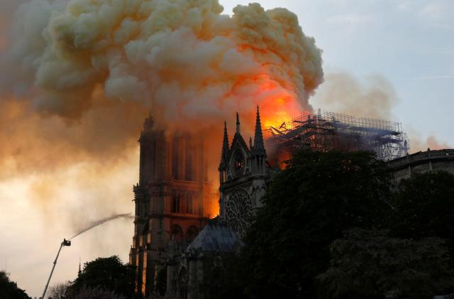 YouTube's fact checking linked the Notre Dame fire to 9/11