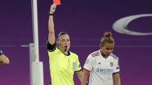 Nikita Parris to miss Champions League final after red in Lyon's win over PSG
