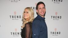Tarek and Christina El Moussa Continue to Prove They're Amicable, Goof Off on 'Flip or Flop' Set