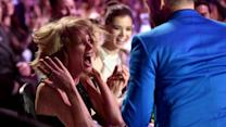 Taylor Swift's Excited Face