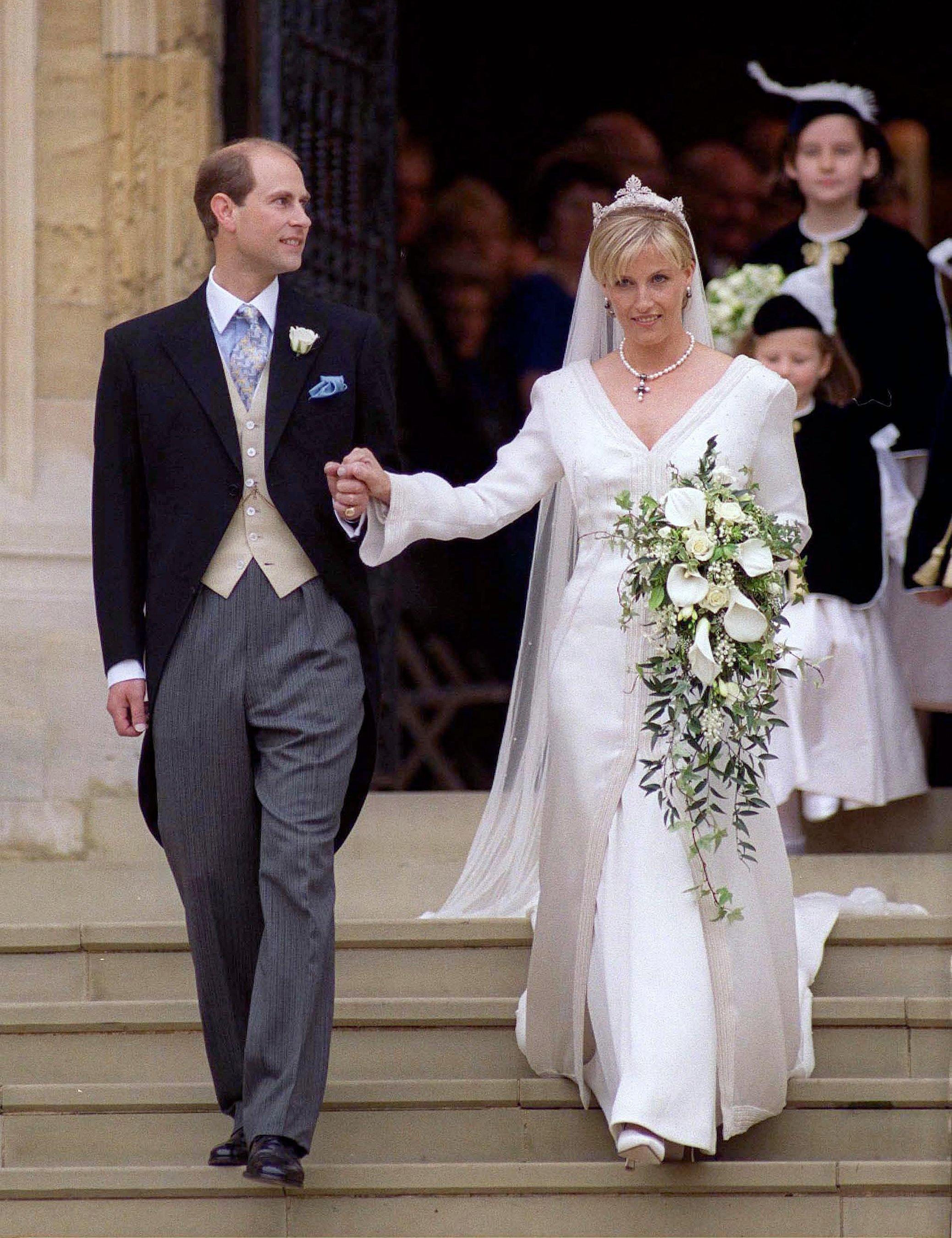 Prince Edward (the Queen's fourth child and third son) married Sophie Rhys-Jones on June 19, 1999.