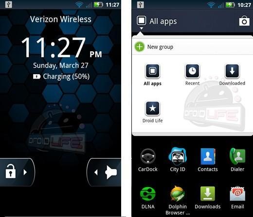 Droid X and Droid 2 get unofficial Android Gingerbread 2.3