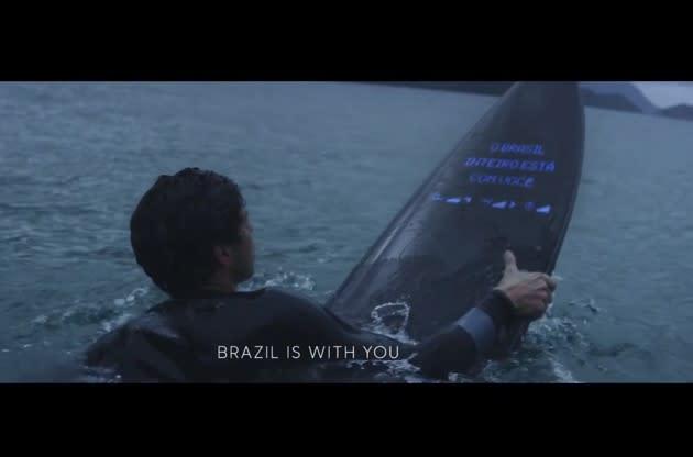 Natürlich hat Samsung auch ein Galaxy-Surfbrett (Video)