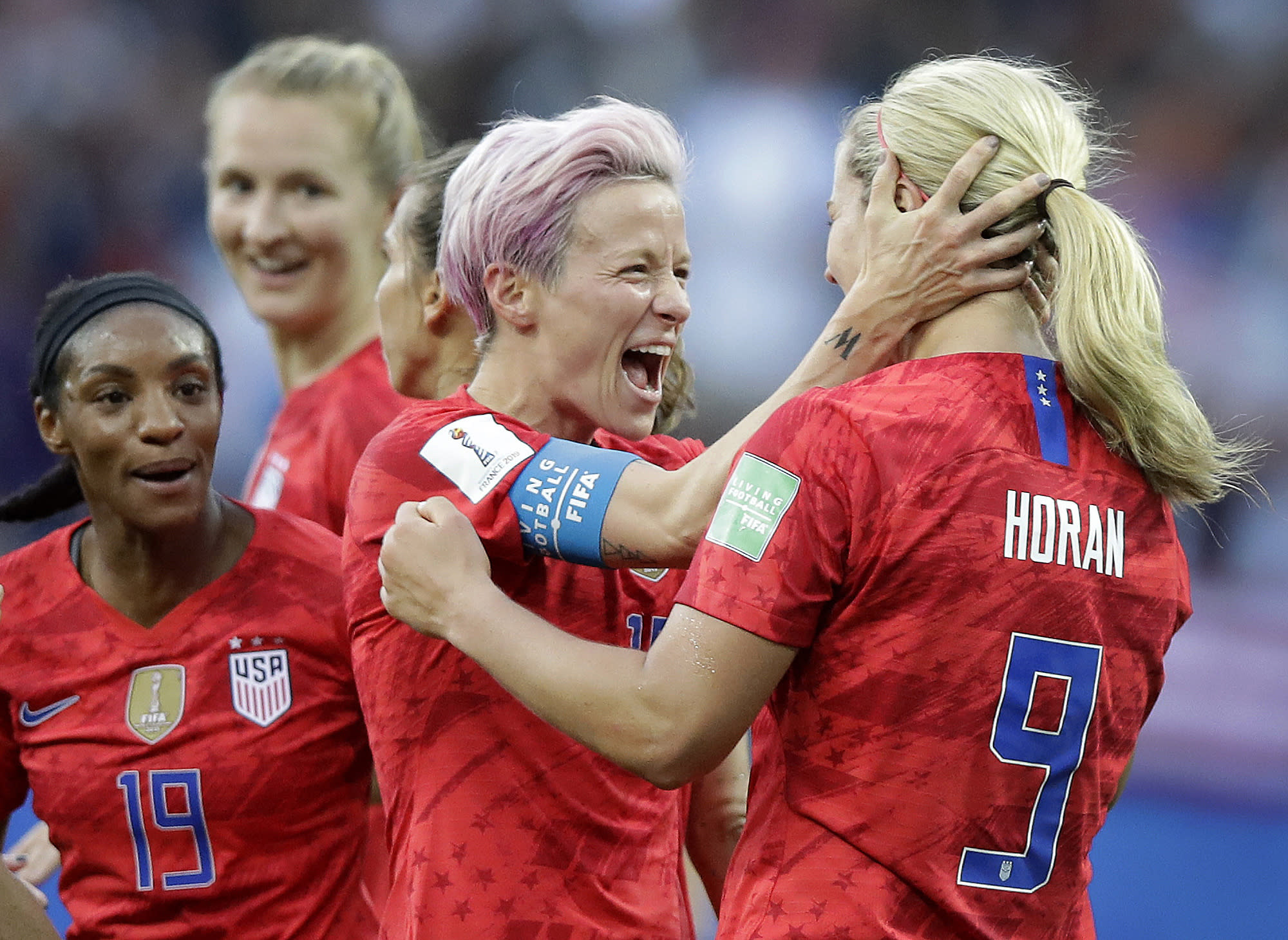 US catches heat for World Cup goal celebrations