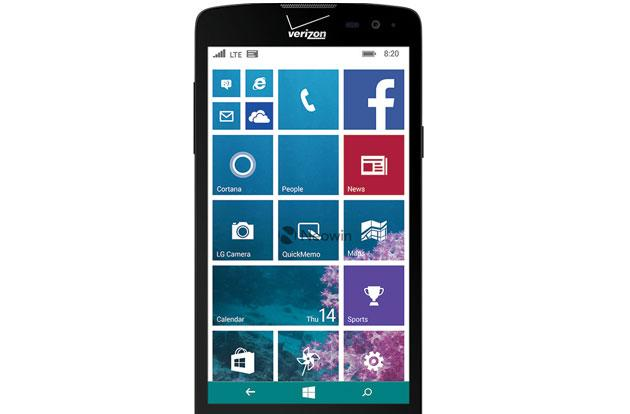 LG is building a Windows phone for Verizon