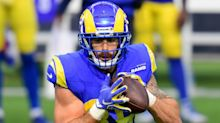 Is Tyler Higbee playing Monday night? Fantasy injury update for Bears-Rams