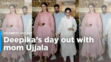 Deepika Padukone Spotted On a Day Out With Mom Ujjala