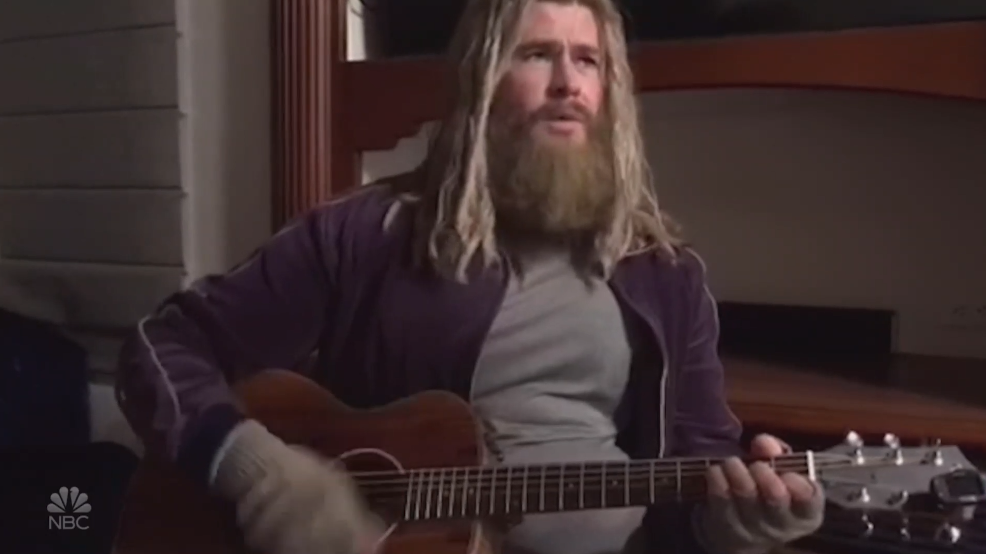Chris Hemsworth debuts hilarious video of 'Fat Thor' performing Johnny Cash