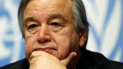 Portugal's Guterres still leads race for U.N. chief after third ballot