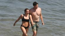 Hilary Duff Gets Romantic With Businessman Ely Sandvik on the Beach: See Their PDA!