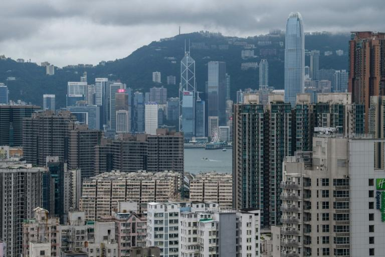 Hong Kong has been hit by months of sometimes violent protests that have hit the city's property sector