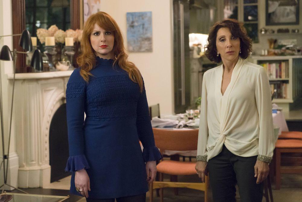 Julie and Marilyn Kessler (Andrea Martin) look judgmental as ever (Photo: Barbara Nitke/Hulu)