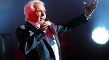 Michel Sardou reporte ses derniers concerts d'adieux pour raisons médicales
