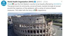 """L'Oms omaggia l'Italia: """"Ha reagito con forza al Covid e capovolto la traiettoria dell'epidemia"""""""