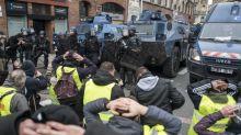 VIDEO.«Gilets jaunes» à Toulouse: 30 interpellations, 10 blessés, un symbole... et davantage de manifestants qu'à Paris
