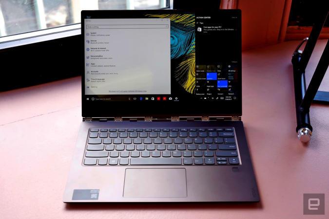 Un vistazo al Lenovo Yoga 920: esta actualización nos gusta