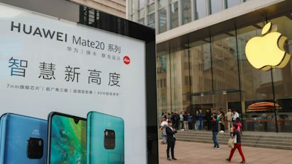 After Huawei arrest, some Chinese firms punish Apple