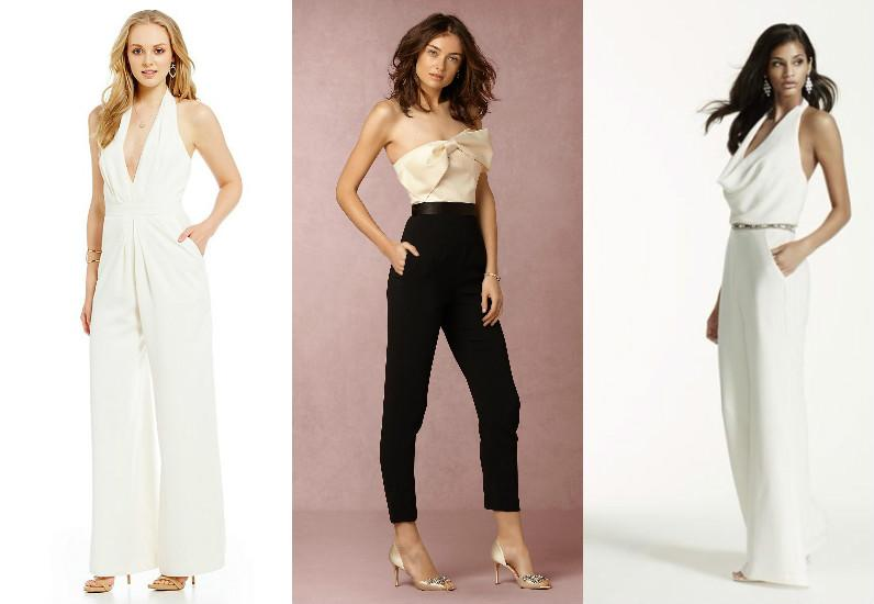 11 chic and affordable wedding jumpsuits because yes you can 11 chic and affordable wedding jumpsuits because yes you can wear pants on your big day junglespirit Images