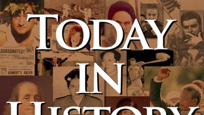 Today in History for February 13th