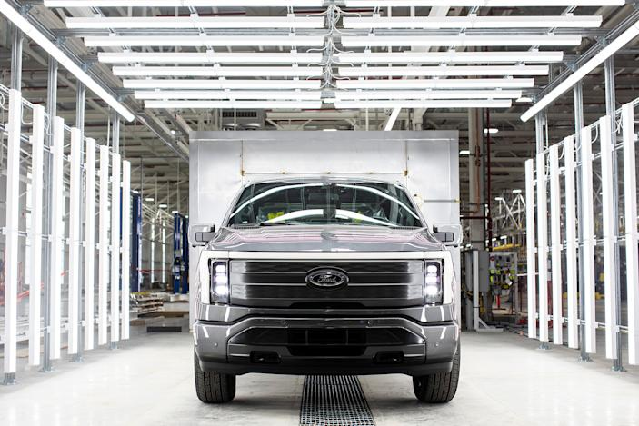 Ford will spend $250 million to boost F-150 Lightning production