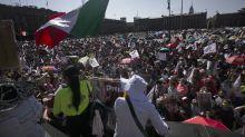 """La """"Marcha del Millón"""" para apoyar a AMLO no llegó al millón"""