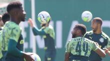 Palmeiras encerra preparação para pegar o Bahia sem Gabriel Veron