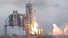 SpaceX hails 'revolution' after recycled rocket launch, landing