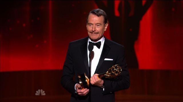 Bryan Cranston takes home best actor in a drama