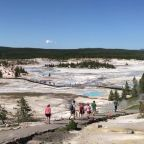 A day in Yellowstone National Park