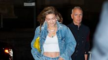 Gigi Hadid's Denim-Themed 24th Birthday Party Had Taylor Swift, a Photo Booth, and So Many Canadian Tuxedos