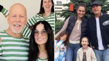 Por qué Bruce Willis hace cuarentena en casa de su ex, Demi Moore (y no con su actual esposa)