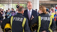 Prince William praises emergency service workers for 'keeping country going' during coronavirus pandemic
