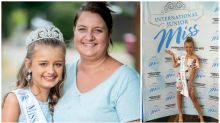 Mum defends spending $18k on 10-year-old daughter's beauty queen dream