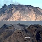 Volcanic blast reshaped summit of Indonesia's Mount Sinabung