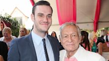 Hugh Hefner's son Cooper says 'it's tough to watch' his father 'struggle'