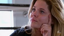 An emotional Sasha Pieterse discusses battle with weight and PCOS diagnosis on 'DWTS'