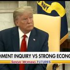 Steve Bannon: What's more important to voters? Impeachment inquiry vs. strong economy