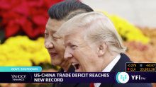 US-China trade deficit reaches new record