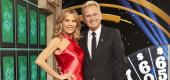 Vanna White and Pat Sajak. (Getty Images)