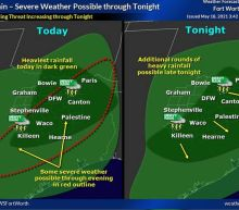 Threat of severe weather, flash flooding continues Tuesday across North Texas