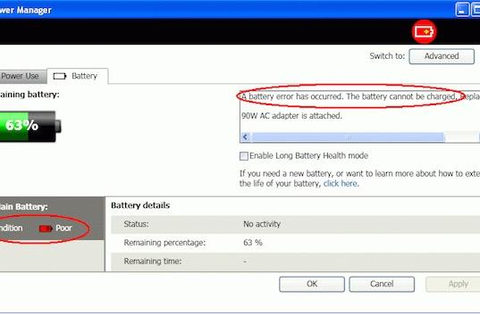 """Lenovo issues battery """"service and warranty extension"""" for six ThinkPad models"""