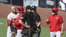 Reds' Votto serves 1-game suspension after ump argument