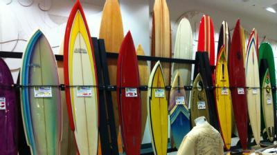 Vintage Surfboard Auction Expected To Attract Thousands