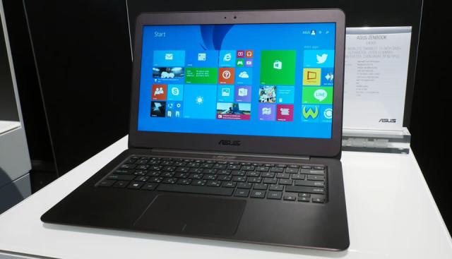 ASUS' slim metallic Zenbook gets a super sharp 13.3-inch screen