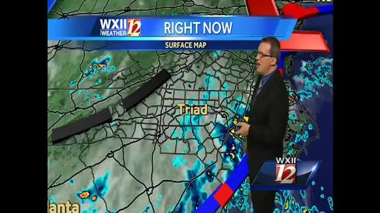 Brian: Possibility of a rainy weekend