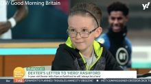 Nine-year-old boy who wrote viral letter to Marcus Rashford says Boris Johnson not doing enough to stop racism
